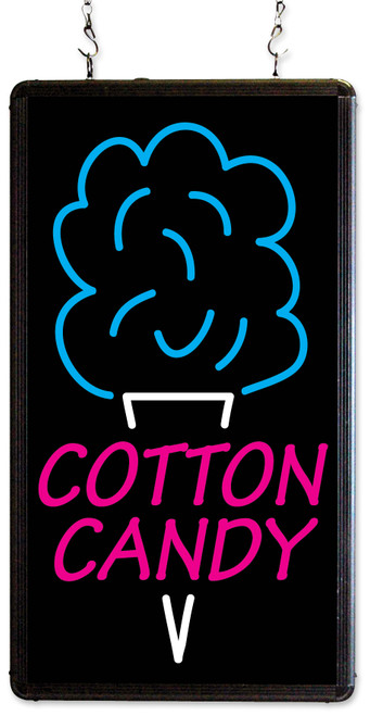 Benchmark - Ultra-Brite Cotton Candy Sign 120v