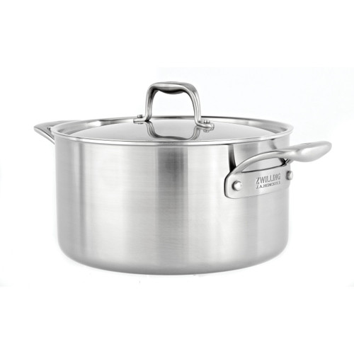 Zwilling J.A. Henckels - Sol II 8 QT Stainless Steel Stockpot