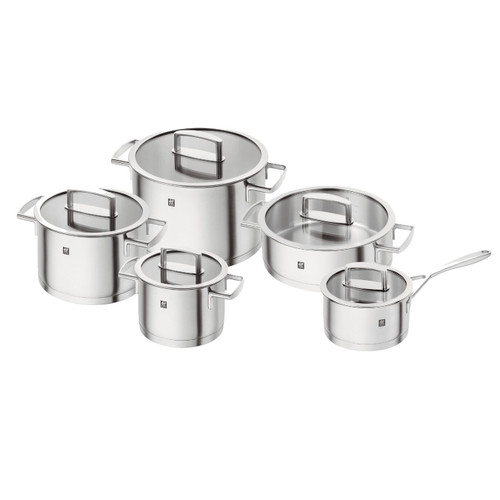 Zwilling J.A. Henckels - Vitality 10Pc Stainless Cookware Set