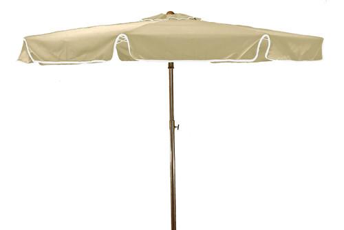 Grosfillex - Beachmaster 6.5 ft Ivory Round Umbrella