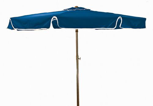 Grosfillex - Beachmaster 6.5 ft Pacific Blue Round Umbrella