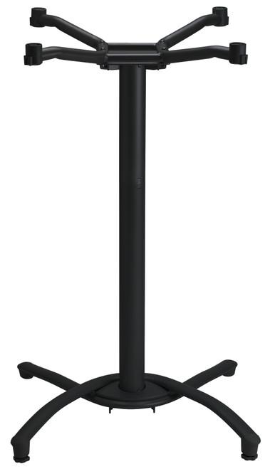 Grosfillex - Boomerang Bar Height Black Base
