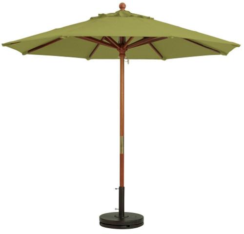 Grosfillex - Market Pesto 9 Ft Round Umbrella