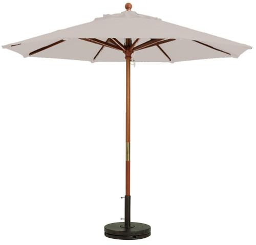 Grosfillex - Market Sand 9 Ft Round Umbrella