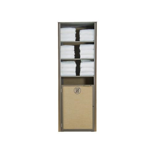 Grosfillex - Sunset Cognac/ Fusion Bronze Single Towel Valet