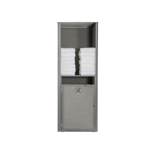 Grosfillex - Sunset Gray/ Platinum Gray Single Towel Valet