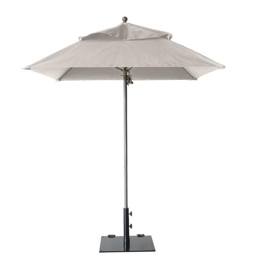 Grosfillex - Windmaster 6.5' Canvas Recacril® Fabric Square Umbrella