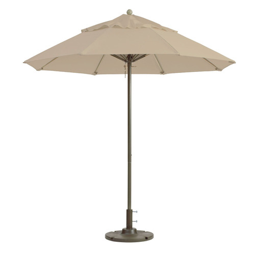 Grosfillex - Windmaster 7.5' Linen Recacril® Fabric Round Umbrella