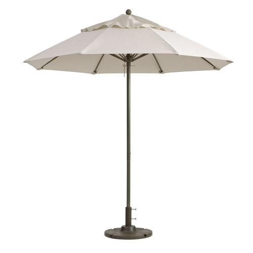 Grosfillex - Windmaster 9' Canvas Recacril® Fabric Round Umbrella