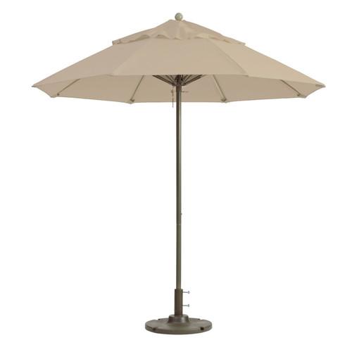 Grosfillex - Windmaster 9' Linen Recacril® Fabric Round Umbrella