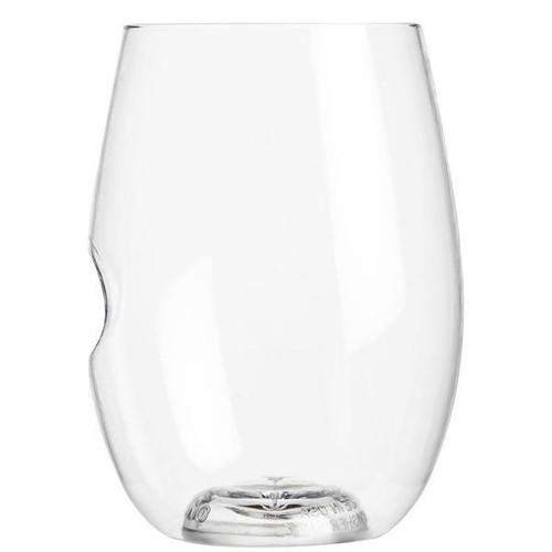 GoVino - Stemless Wine Glass Dishwasher Safe (2 Pack)