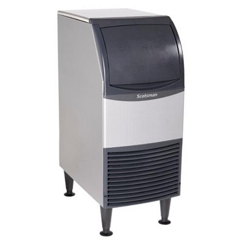 "Scotsman - Undercounter 15"" Width Air Cooled Medium Cube Ice Machine - 80 lb Production 36 lb Storage (115 Volts)"