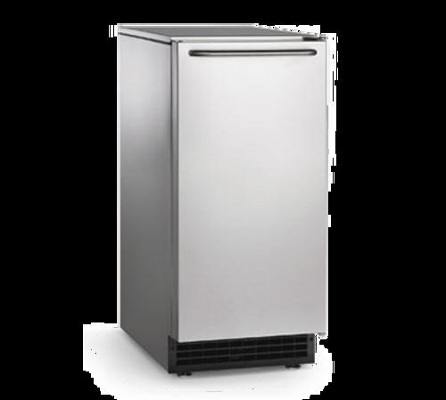 "Scotsman - Undercounter 15"" Width Air Cooled Gravity Drain Gourmet Cube Ice Machine - 64 lb Production 26 lb Storage (115 Volts)"