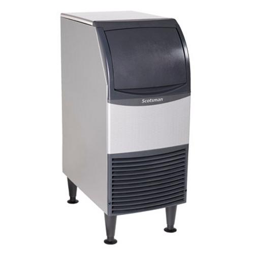 "Scotsman - Undercounter 15"" Width Air Cooled Medium Cube Ice Machine - 58 lb Production 36 lb Storage (50hz)"