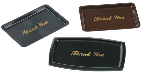 Johnson-Rose - Cheque Tray-Blk-Thank you - 9377