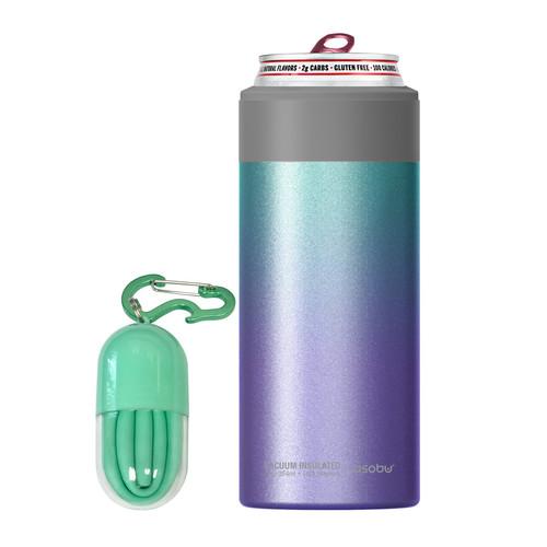 Asobu - Unicorn Insulated Slim Can Kuzie (Fits 12 Oz Slim Cans)