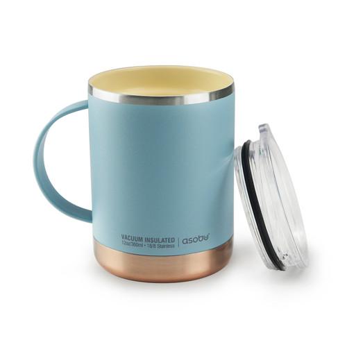 Asobu - Baby Blue 12 Oz Insulated Ultimate Coffee Mug