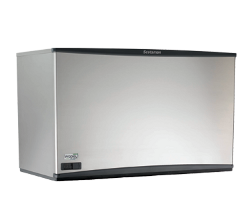 Scotsman - 1251 to 3400 lb Production 1444 lb Production   Half Size Cubes Water Cooled Modular Ice Machine