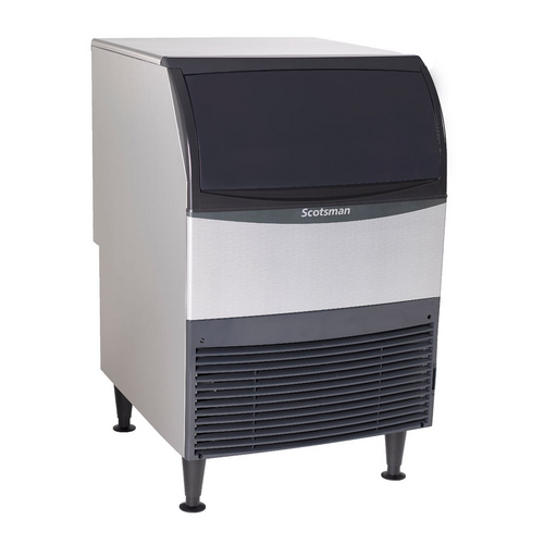 Scotsman - 266 lb Production  80 Pounds Storage Full Size Cubes Water Cooled Undercounter Ice Machine