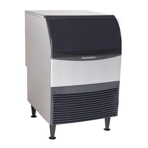 Scotsman - 282 lb Production  80 lb Storage Half Size Cubes Air Cooled Undercounter Ice Machine