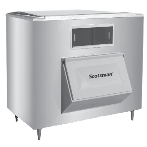 "Scotsman - Ice Storage Bin 60"" Stainless Steel Exterior - 1755 lb"