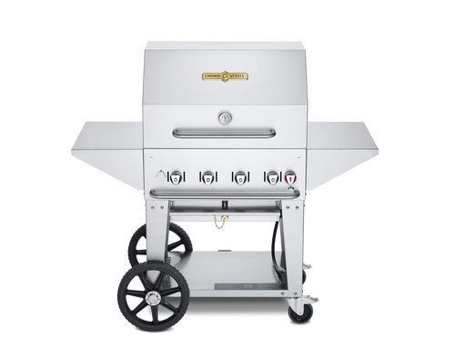 """Crown Verity - 30"""" Natural Gas BBQ With Pro Package"""