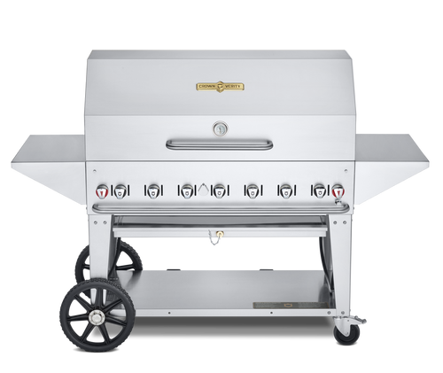 """Crown Verity - 48"""" Natural Gas BBQ With Pro Package"""