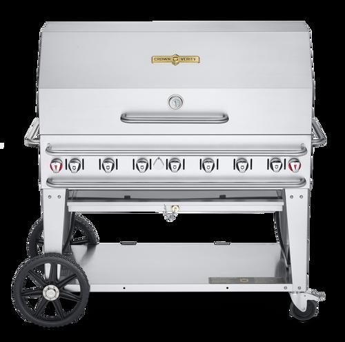 "Crown Verity - Pro Series 48"" Liquid Propane BBQ"