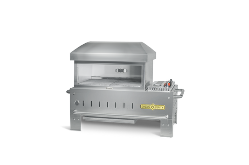 """Crown Verity - 24"""" Natural Gas Table Top Outdoor Pizza Oven"""
