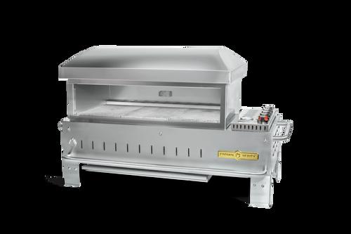 """Crown Verity - 36"""" Liquid Propane Table Top Outdoor Pizza Oven"""