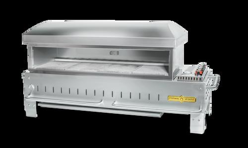 """Crown Verity - 48"""" Liquid Propane Table Top Outdoor Pizza Oven"""