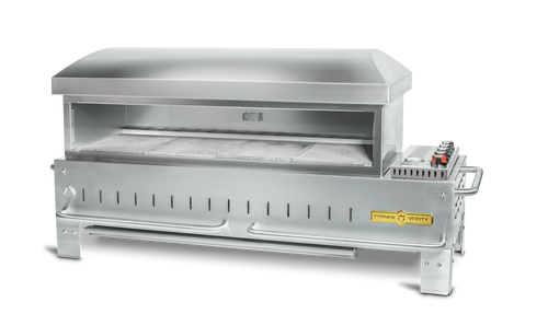 """Crown Verity - 48"""" Natural Gas Table Top Outdoor Pizza Oven"""