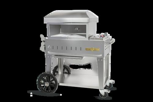 "Crown Verity - 24"" Liquid Propane Mobile Outdoor Pizza Oven"