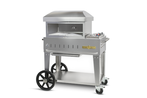 """Crown Verity - 24"""" Natural Gas Mobile Outdoor Pizza Oven"""