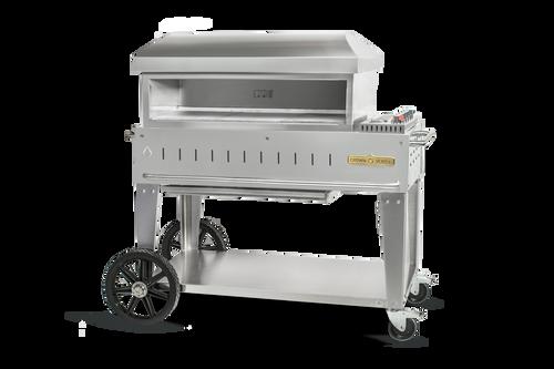 "Crown Verity - 36"" Liquid Propane Mobile Outdoor Pizza Oven"