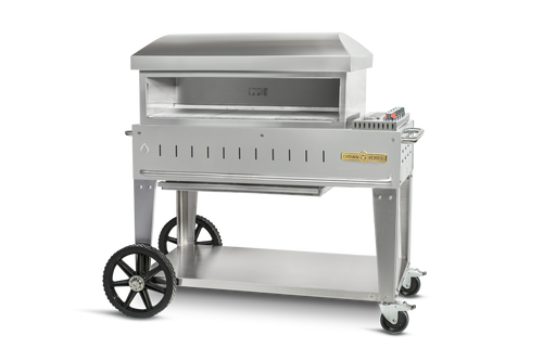 """Crown Verity - 36"""" Natural Gas Mobile Outdoor Pizza Oven"""