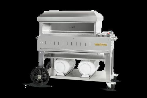 "Crown Verity - Club Series 36"" Liquid Propane Mobile Outdoor Pizza Oven"