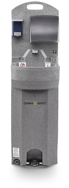 Crown Verity - Single Compartment Cold Water Handwashing System