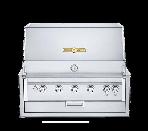"Crown Verity - 36"" Liquid Propane Infinite Series Built In BBQ"