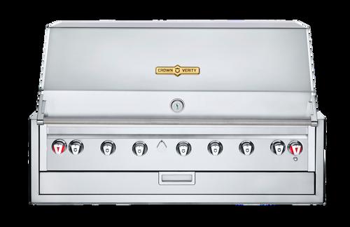 "Crown Verity - 48"" Liquid Propane Infinite Series Built In BBQ"
