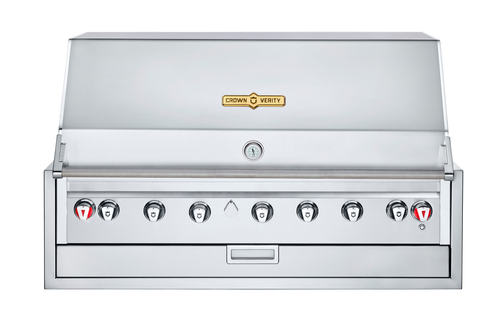 "Crown Verity - 48"" Natural Gas Infinite Series Built In BBQ"