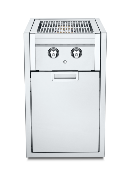 Crown Verity - Liquid Propane Infinite Series Small Built-In Cabinet with Dual Side Burner
