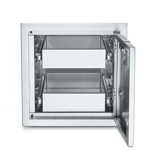 Crown Verity - Infinite Series Small Built-In Cabinet with Two Single Drawers