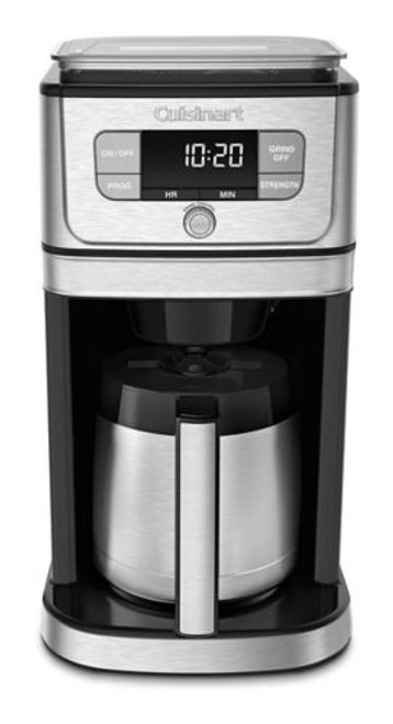Cuisinart - 10 Cup Burr Grind and Brew Coffee Maker