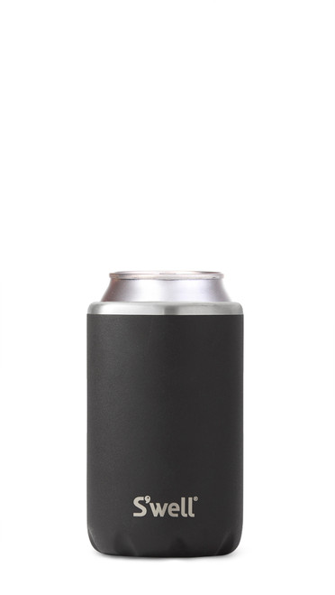 S'Well - Onyx Drink Chiller (Fits 12 Oz Cans & Bottles)
