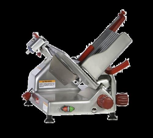 "Berkel - 12"" Manual Gravity Feed Meat Slicer - 1/2 hp"