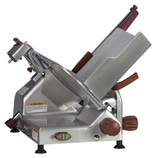 "Berkel - 14"" Manual Gravity Feed Meat Slicer - 1/2 hp"