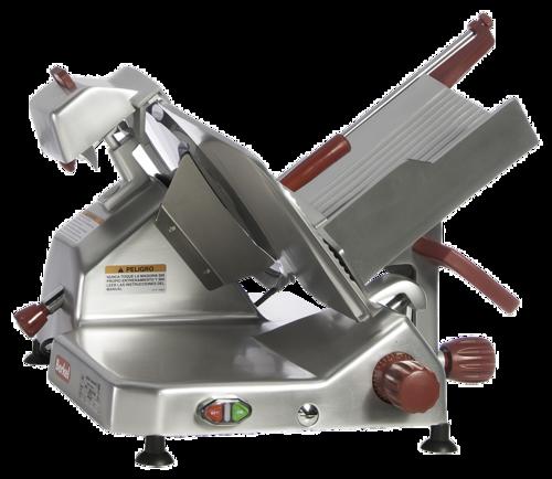 "Berkel - 14"" Manual Gravity Feed Meat Slicer - 1/2 hp (Dual Action)"