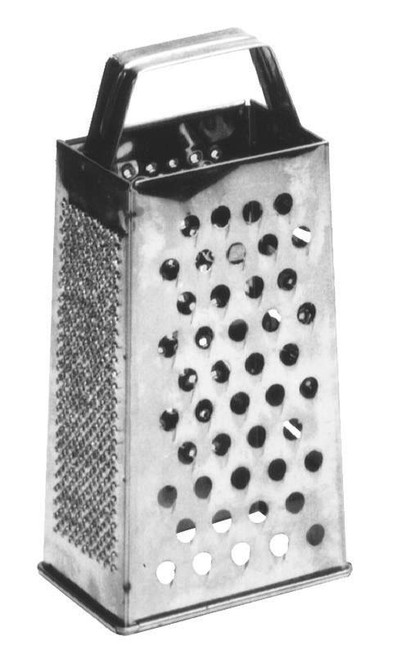 Winco - Stainless Steel Grater - 7344