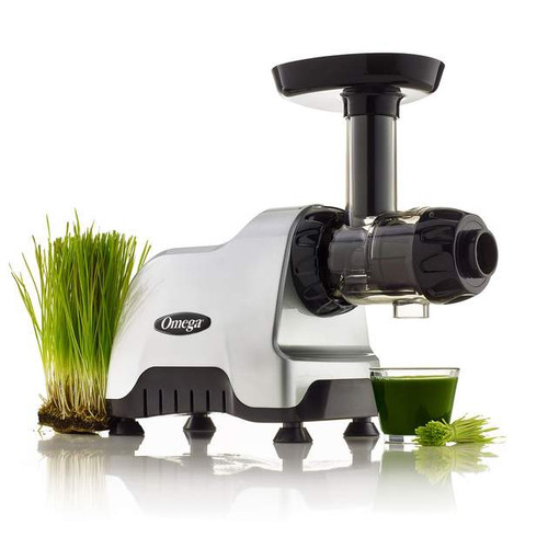 Omega - Silver Compact Juicer and Nutrition System